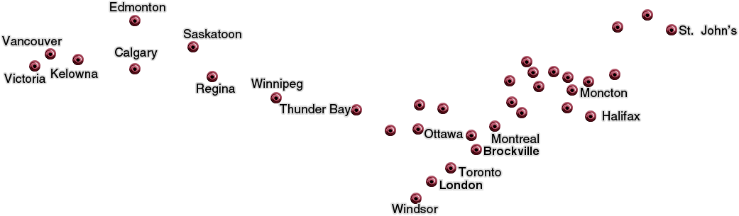 Map Of Canada Vancouver To Calgary.Speedy Transport Ltl Truckload Service Transportation Company